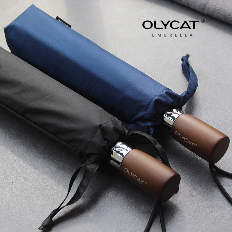 OLYCAT Umbrellas Automatic Sunscreen Anti UV Brand Umbrella Rain  Wind Resistant 3 Folding Automatic Umbrella RainAuto Luxury BrOLYCAT Umbrellas Automatic Sunscreen Anti UV Brand Umbrella Rain  Wind Resistant 3 Folding Automatic Umbrella RainAuto Luxury Br