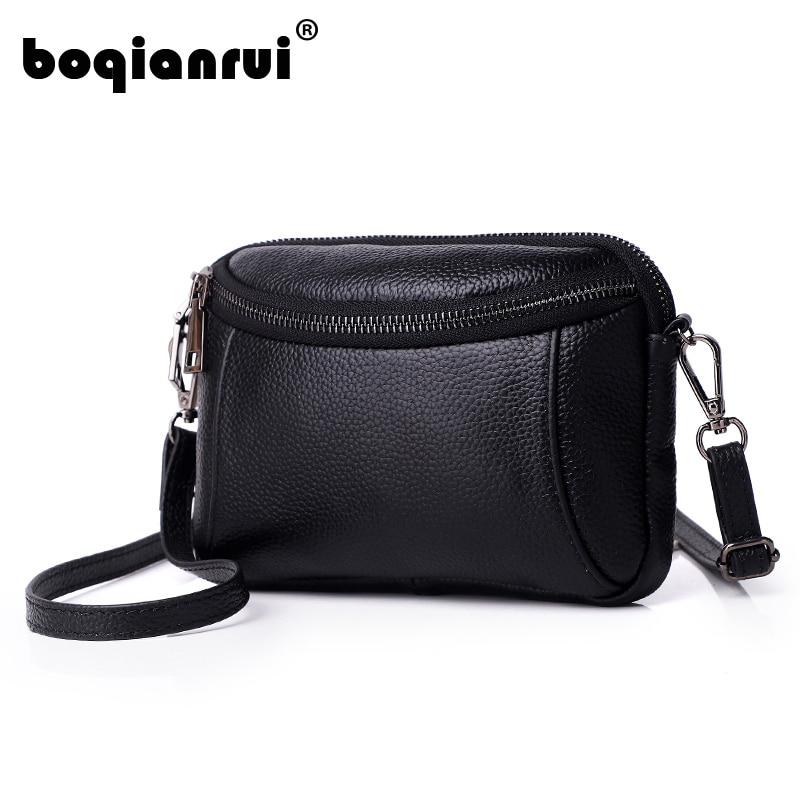 3ddec32bd594 Новый Для женщин Сумки Простые Модные клапаном из натуральной кожи женщина сумка  Корейская версия сумка на