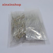 1000 pcs 560 Ohm Resistors 1/4W Ideal for 12V LEDs 560R 5% Autobon Film resistor