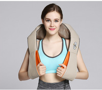 Wireless rechargeable massager, heating massage neck, kneading cervical massager, multi functional body massage instrument