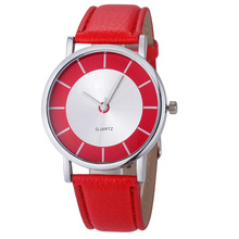 new 2017 Relogio Feminino Reloj Mujer Women watch clock Fashion girls ladies Geneva Retro Dial Leather Analog Quartz gift P*21