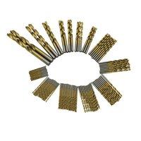 99 قطع titanizing المغلفة hss عالية السرعة الصلب مثقاب مجموعة أدوات أداة 1.5 ملليمتر-10 ملليمتر السلطة