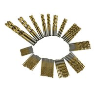 99 Pcs Titanizing Coated HSS High Speed Steel Drill Bit Set Tool 1 5mm 10mm Power