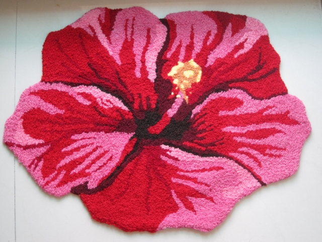 Flower shaped rug tapetes de sala rugs and carpets marriage premises flower shaped rug tapetes de sala rugs and carpets marriage premises bed mats bedroom doormat wedding carpet flower in carpet from home garden on mightylinksfo