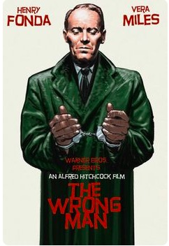 The wrong man (1956) - Alfred Hitchcock Movie Film Retro Vintage Poster Canvas Painting Wall Sticker Home Art Home Decor Gift image