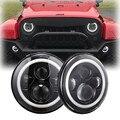 OTBS 2 шт. 7 дюймов светодиодные фары H4 дальнего ближнего света круглые дополнительные фары для Jeep Wrangler Lada Niva 4x4 мотоцикла