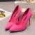 5 cores Apontou Toe de Camurça de Salto Alto Da Moda Sexy Sapatos de Salto Alto Mulheres Bombas sapatos de casamento Bombas das mulheres solteiros sapatos