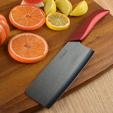Free Shipping BAIYUE 6.5″ Kitchen Ceramic Black Blade Professional Chef Slicing Meat Vegetable Cutting Knives Household Cleaver