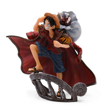 14 cm Hot Toy Anime One Piece Top War Monkey D. Luffy PVC Action Figure Collectible Model Christmas Gift Baby Toys For Children anime one piece film gold monkey d luffy shanks edward newgate pvc figure collectible model toy