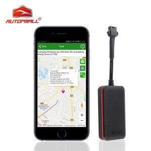 Image 1 - ミニ GPS 車トラッカー遮断燃料油防水 IP66 GPS ロケータオート車両追跡デバイス電源振動アラーム送料アプリ Web