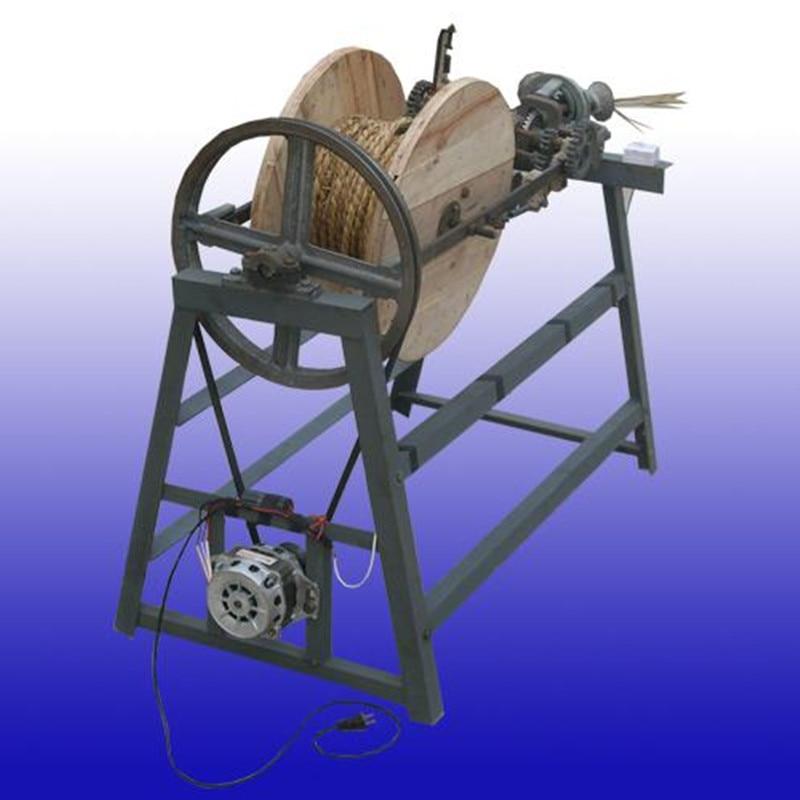Semi automatic rice stalk straw rope making machine straw braiding machine price - 4