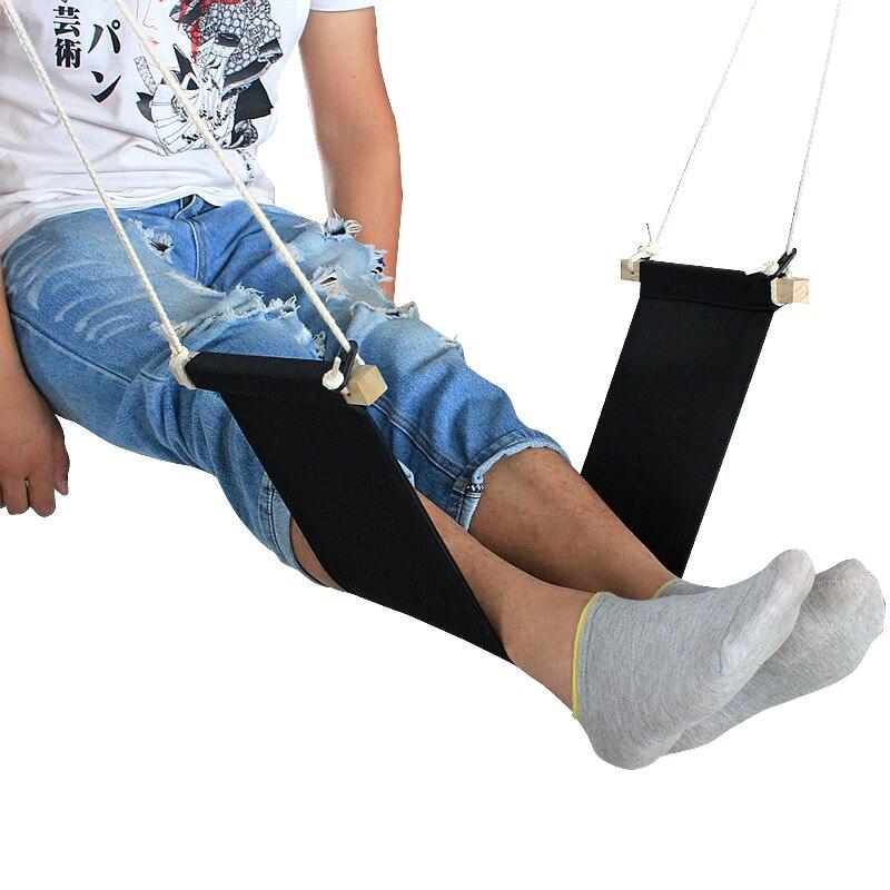 Mini Foot Hammock Desk Foot Rest Feet Hammock 2016 new originality novel desk rest on foot small hammock relieve foot fatigue foot pedal 65 17cm