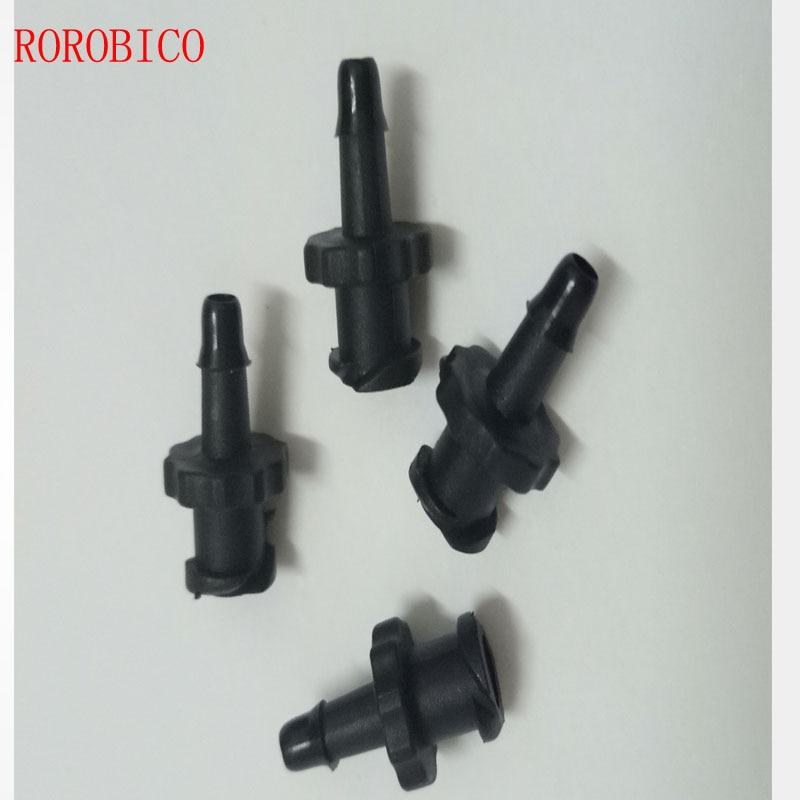 20 шт 4x3 мм чернильная трубка соединитель трубка для чернил шланг подключения для широкоформатного растворителя уф струйный принтер