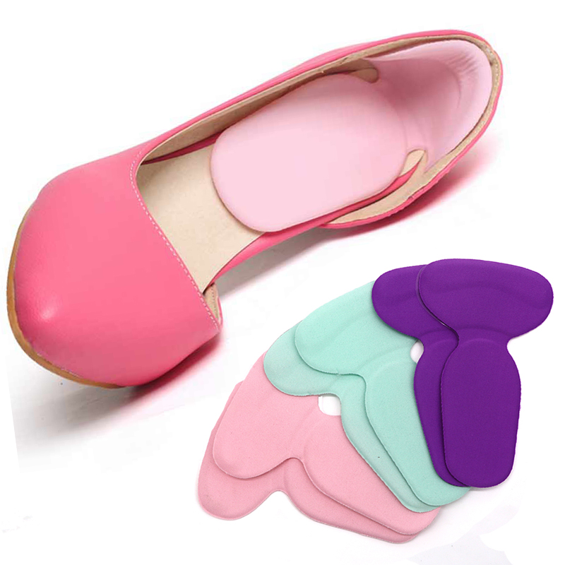 1Pair High Heel Shoes Pad Super Soft Insoles Comfortable Silicone Gel Heel Cushion Protector Feet Care Orthotics Pedicure Tools