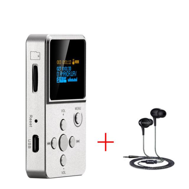 Xduoo X2 + VSD1S Reproductor de Música Flac Player + Auricular de ALTA FIDELIDAD de nivel de Entrada
