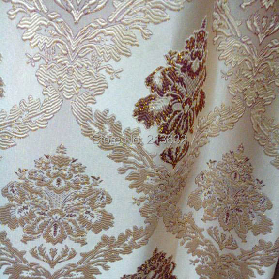 Home drapes new Free shipping curtain wholesale floor cover embroidery drapery for wedding and party curtains luxurious Cover