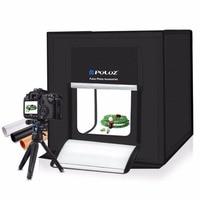 PULUZ 40*40cm Light Box Mini Photo Studio Photography Box Foldable Softbox LED Photo Lighting Studio Shooting Tent Box Kit