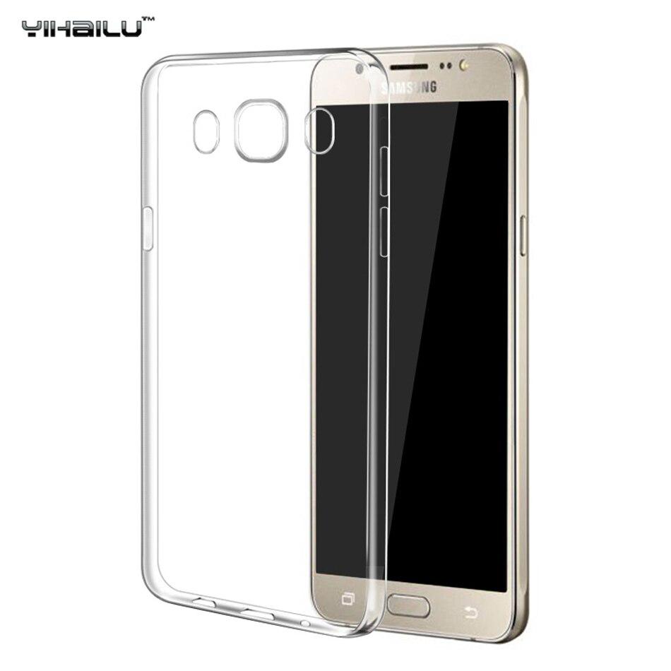 para samsung galaxy j5  case cubierta suave del teléfono de silicona case para