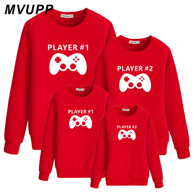 dc29c093f MVUPP family matching clothes tshirt Sets Christmas Sweater Mommy ...