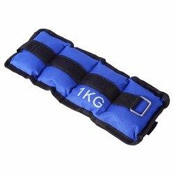 AU US 2 uds pierna ajustable tobillo arena bolsa 0,5/1/1,5/2/2,5/3 kg pesas correas fuerza para entrenamiento ejercicio gimnasio correr bolsa de arena