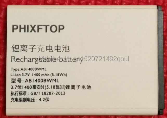 Con número de seguimiento, phixftop batería original para el teléfono móvil de Beeline para batp031400 teléfono móvil smart 3 batería del teléfono 4.2 V