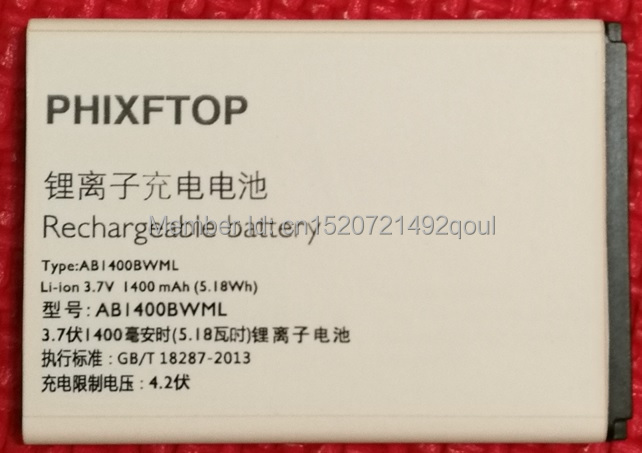with tracking number,PHIXFTOP Original battery For Beeline cellphone for BATP031400 Mobile phone smart 3 phone batterie 4.2V