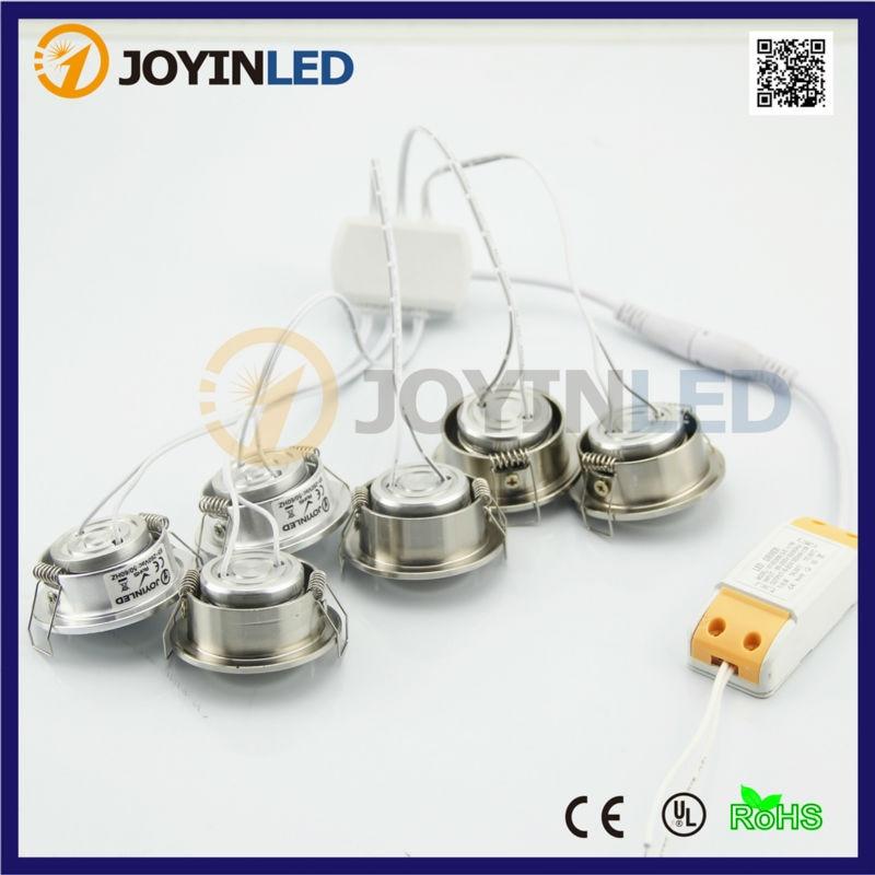 Rational Joyinled 6*3 W 18 W Cob Led Decke Spot Lichter Einbau Kleine Led-strahler Kabinett Licht Dc12/ Ac220v Aromatischer Geschmack Deckenleuchten & Lüfter