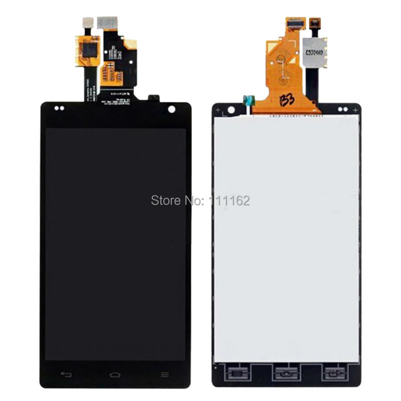 OEM For LG Optimus G E970 Front Housing LCD Touch Glass Digitizer Assembly