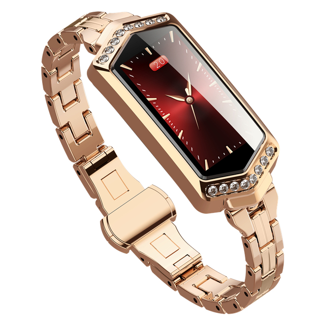 GOLDENSPIKE B78 smart watch women Fitness bracelet Heart Rate tracker Monitor Pedometer blood pressure oxygen smartwatch