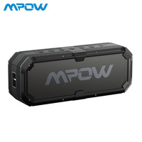 Mpow IPX65 Waterproof Speaker Bluetooth Outoor&Indoor Speakers with Dual 8W Drivers Built in Mic for iPhone Samsung,PC, Huawei
