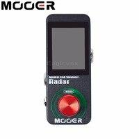 Mooer Radar Speaker CAB Simulator Effect Pedal 30 Speaker Models Effects Stompbox For Electric Guitar 36