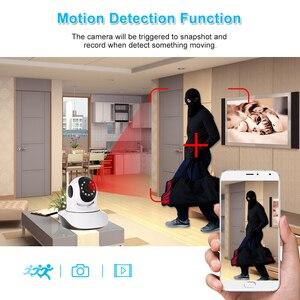 Image 2 - Monitor de bebé con Sensor de humedad y temperatura de visión nocturna de Audio bidireccional PTZ compatible con cámara IP WIFI HD Pan Tilt inalámbrica de 1080P