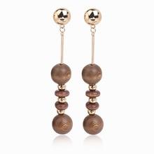 2016 Sale ball long earrings marry jewelry bridal gifts dangle earrings wedding engagement jewelry drop earrings fine jewelry
