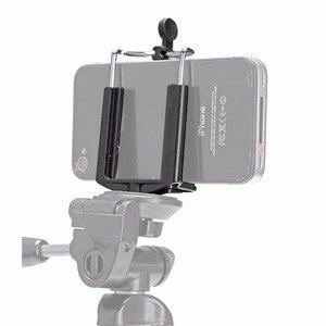 Image 3 - カメラの三脚ホルダー一脚携帯電話調整ホルダースタンド Selfie スティックマウントクリップブラケット