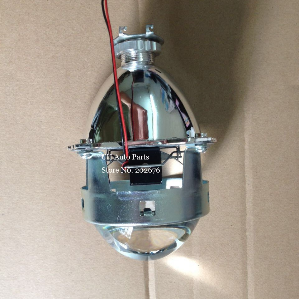 DLAND, UPGRADED 3.0 INCH HID BI-XENON PROJECTOR LENS H1,METAL BRACKET, HEADLAMP H1 H4 H7 HB3 HB4 EASY INSTALL