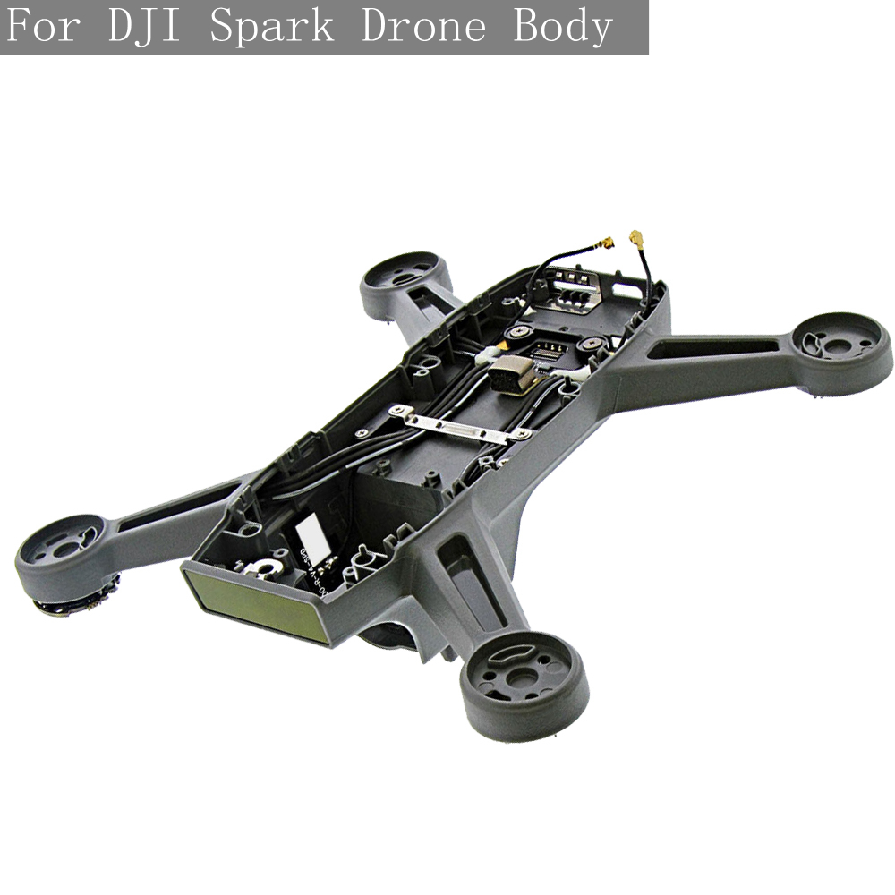 100% Original Genuine Middle Frame Body Shell for DJI Spark Cover Spare Part RC Drone Mid Accessories