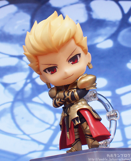 Anime Comic Fate Stay Night Zero Gilgamesh Golden Cute Good Smile Nendoroid 410 # Figure Toys