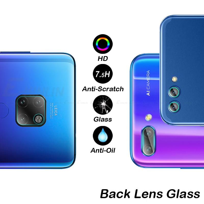 Image 2 - Back Camera Lens Screen Protector Film For HuaWei Mate 30 20 X P30 P20 Pro Honor View 10 8X Lite P Smart Z 2019 Tempered Glass-in Phone Screen Protectors from Cellphones & Telecommunications