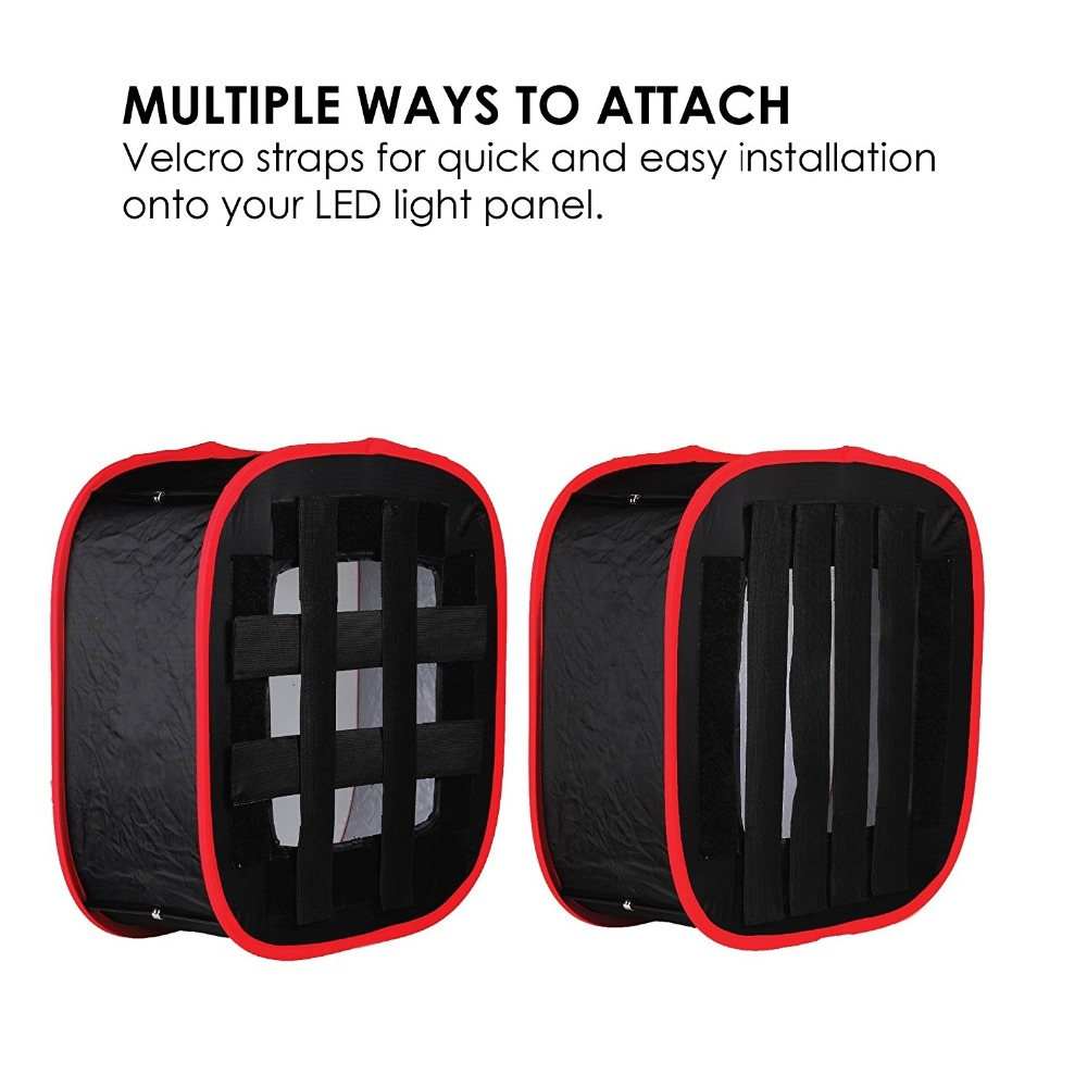 universal instant foldable collapsible softbox diffuser for led light panel studio photography camera photo shoot videoin photo studio accessories from
