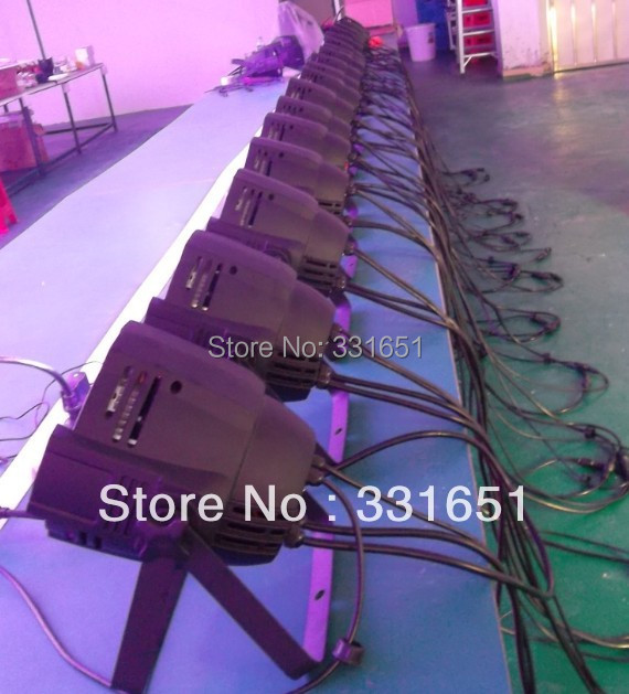 20Pcs/lot Cheap Price Good Quality LED Power Par Cans  Stage Wash Light RGBW 54x3W 8 Channels 2pcs lot led par cans 54x3w rgb 3in1