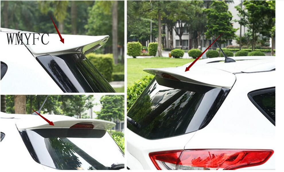 For Ford Kuga Escape 2013 2014 2015 2016 2017 2018 Spoiler ABS Auto Rear Wing Spoilers Car Accessories