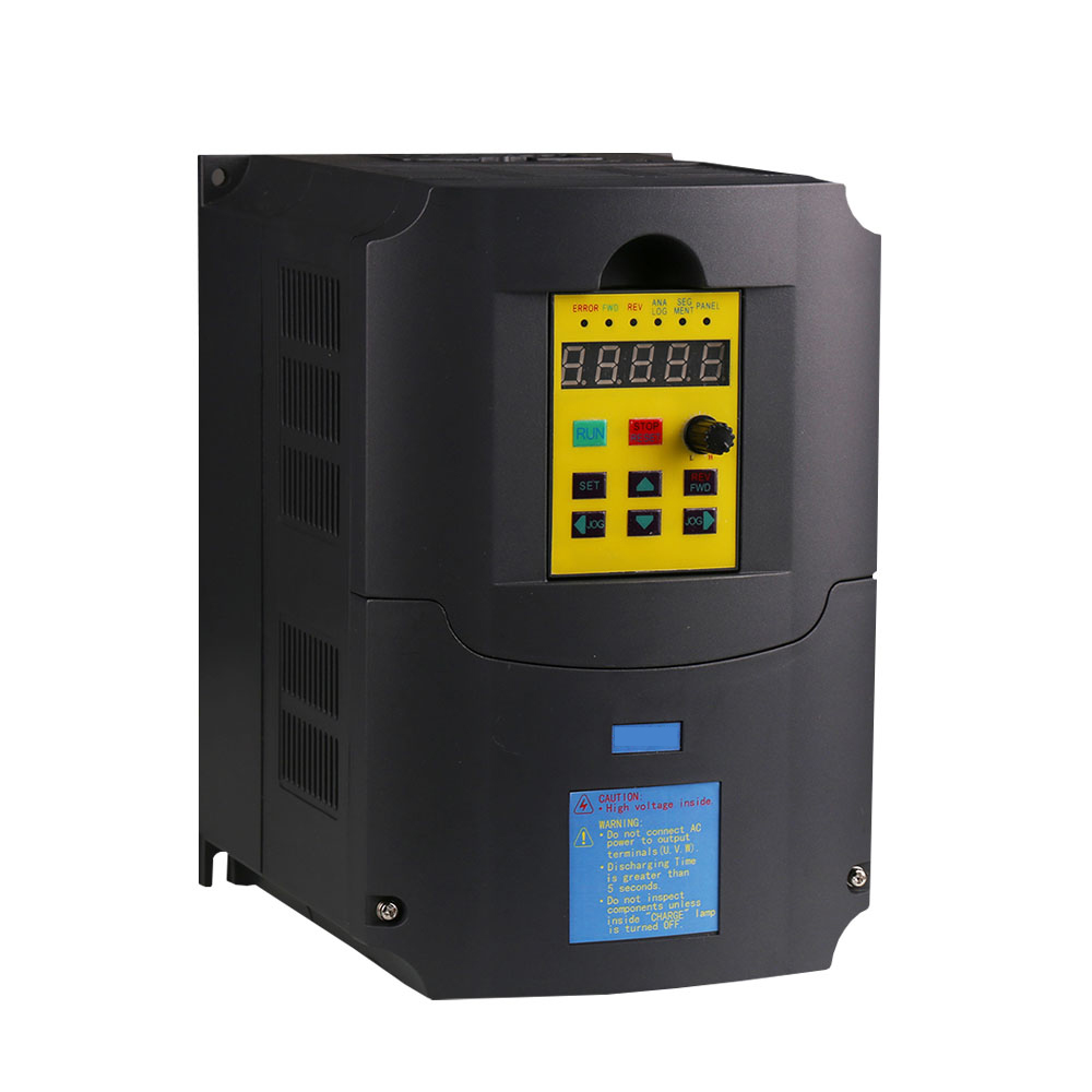 Inverter,5500 watt (5.5KW) , input 220V output 380V Variable Frequency Drive for 2KW Motor Speed Control, Drive Capacity: 10KVA inverter 1500 watt 1 5 kw 1000hz 220v input 75v output inverter vfd for 1 5kw motor speed control drive capacity 2 8kva