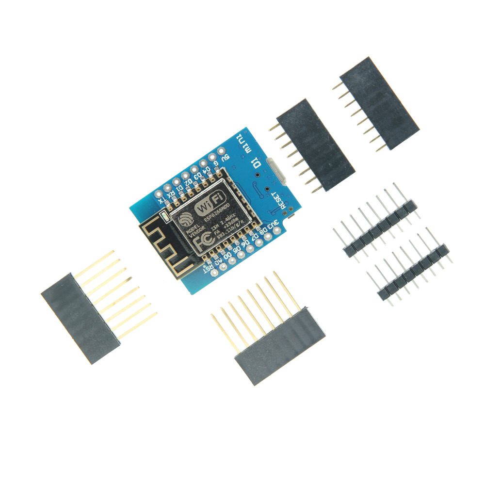 ESP8266 ESP-12 ESP12 WeMos D1 Mini Module Wemos D1 Mini WiFi Development Board Micro USB 3.3V Based On ESP-8266EX official doit mini ultra small size esp m2 from esp8285 serial wireless wifi transmission module fully compatible with esp8266