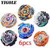 6pcs Lot New Beyblade Burst Toys Arena Beyblades Toupie Beyblade Metal Fusion Avec Lanceur God Spinning
