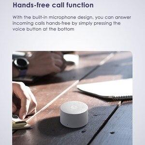 Image 4 - Oryginalny głośnik Bluetooth Xiaomi AI Mini bezprzewodowa jakość HD przenośny mikrofon kolumnowy połączenie głośnomówiące AI Bluetooth 4.2 Sound Box