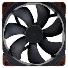 Noctua ventilador de enfriamiento de ordenador, NF A14industrialPPC 3000, PWM, 14mm, carcasa de ordenador, ventilador de refrigeración, ventilador de radiador, ordenador