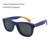 Top Qualidade Skate de Madeira Óculos Polarizados Revo Espelho Óculos de Sol das Mulheres Dos Homens Da Marca do Desenhador 2016 Com Dobradiça De Mola de Metal