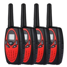 4X font b radio b font set 8 canals walkie talkie PMR Portable font b Radio