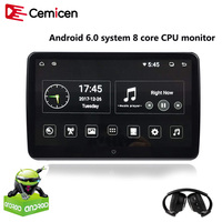 cemicen-106-inch-android-60-car-headrest-monitor-19201080-hd-1080p-video-ips-touch-screen-3g-wifi-usbsdhdmiirfmbluetooth