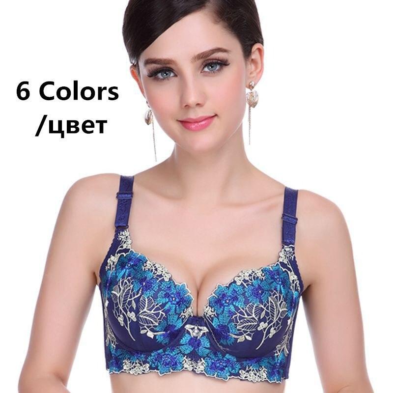 Bra 6 Colors bras for women underwear casual push up bra brassiere sutian plus size sutia adesivo bralette women sexy bra in Bras from Underwear Sleepwears
